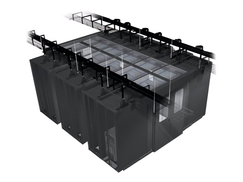 Panduit Net-Contain Cold Aisle Containment Row Base Cooling Blanking Panel - blank panel