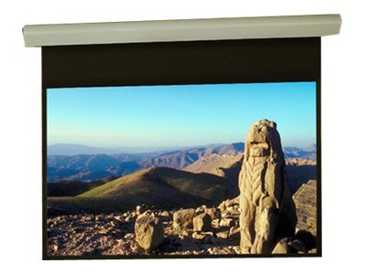 Draper Silhouette/Series E HDTV Video Format Projection screen motorized 110 V