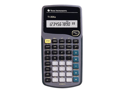 Texas Instruments TI-30Xa Scientific calculator 10 digits battery