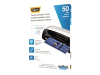 Fellowes 50-pack glossy clear 11.5 in x 9.02 in lamina