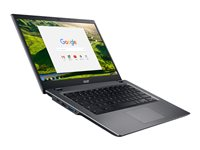 "Acer Chromebook 14 for Work CP5-471-596L - Core i5 6200U / 2.3 GHz - Chrome OS - 8 Go RAM - 32 Go eMMC - 14"" IPS 1920 x 1080 (Full HD) - HD Graphics 520 - Wi-Fi, Bluetooth - noir, argenté(e) - kbd : français"