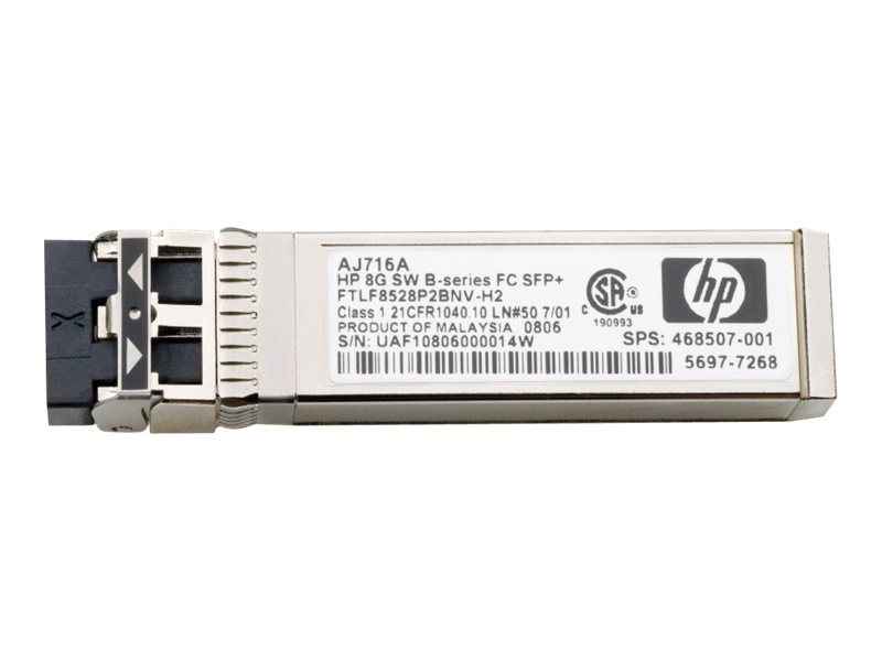 HPE - SFP+-Transceiver-Modul - 16Gb-Fibre-Channel (SW) - Fibre Channel - LC - für HPE 32, 48, SAN Director 64-port 8Gb, SN3000B 16, SN6000B 16, SN8000B 32, SN8000B 48
