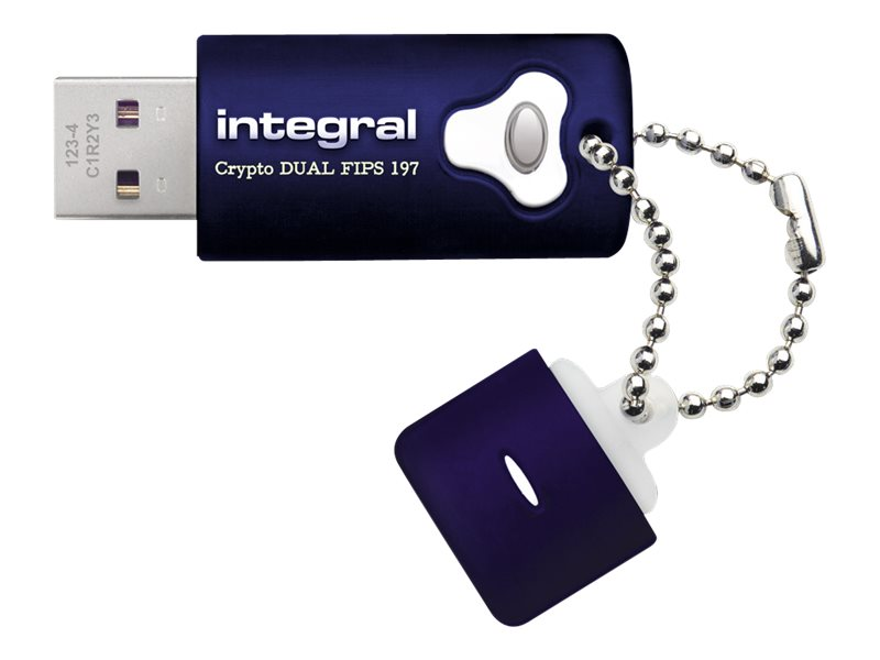Integral Memory Integral Crypto Dual - USB-Flash-Laufwerk - 8 GB - USB 3.0