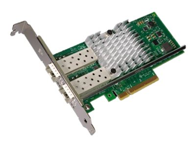 Intel Ethernet Converged Network Adapter X520-DA2 - Netzwerkadapter - PCIe 2.0 x8 Low-Profile - 10Gb Ethernet / FCoE SFP+ x 2