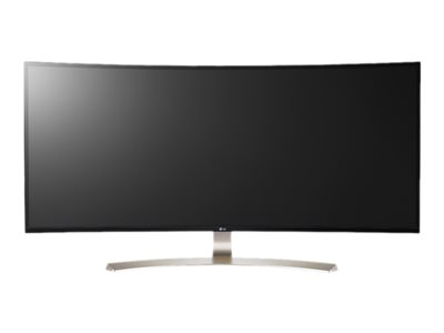 LG 38UC99-W LED monitor curved 38INCH (37.5INCH viewable) 3840 x 1600 IPS 300 cd/m² 5 ms