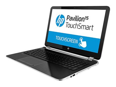HP Pavilion TouchSmart 15-n040us Core i3 4005U / 1.7 GHz Win 8 64-bit 4 GB RAM 750 GB HDD