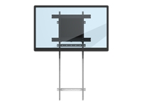 ViewSonic BalanceBox 400 VB-BLF-001 - Mounting kit (VESA mount bracket, wall mount adapter, floor support) for interactive flat panel - steel - black, white - screen size: 55
