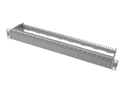 BTR E-DAT modul - Patch Panel - Hellgrau - 1U - 19