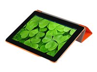 i-Blason i-Folio Smart Case Flip cover for tablet polyurethane leather orange