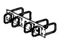 Panduit Open-Access Horizontal Cable Manager Cable management panel 2U 19INCH
