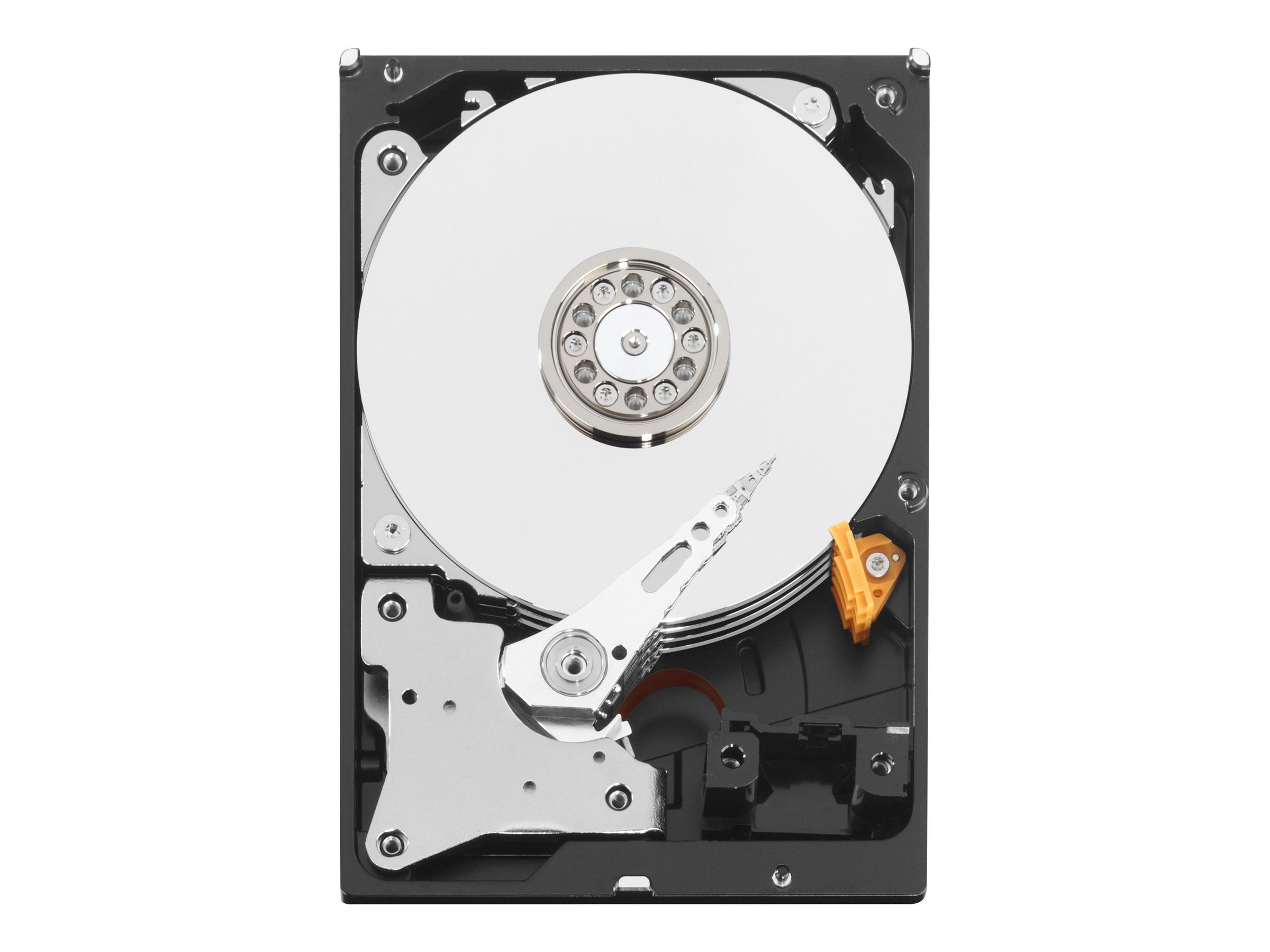 WD Red Plus NAS Hard Drive WD10EFRX - hard drive - 1 TB - SATA 6Gb/s (pack of 20)