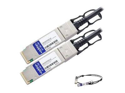 AddOn - 100GBase-CU direct attach cable - TAA Compliant - QSFP28 to QSFP28