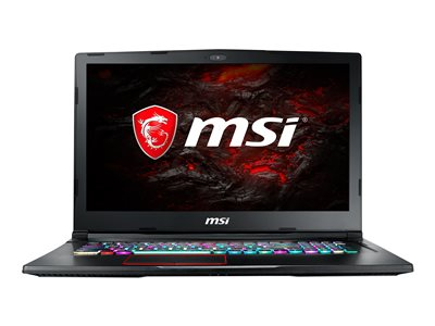 MSI GE63 Raider RGB-600 Core i7 9750H / 2.6 GHz Windows 10 Home 16 GB RAM 512 GB SSD NVMe