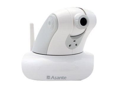 Asante Voyager II Network surveillance camera pan / tilt color 1.3 MP audio wireless