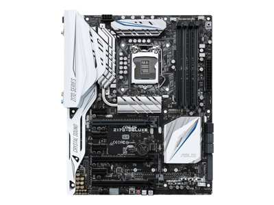 ASUS Z170-DELUXE - Motherboard - ATX - LGA1151 Socket - Z170 - USB 3.0, USB 3.1, USB-C - Bluetooth, 2 x Gigabit LAN, Wi-Fi - onboard graphics (CPU required) - HD Audio (8-channel)