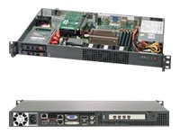 Supermicro SuperServer 1019C-HTN2 - rack-mountable - no CPU - 0 GB - no HDD