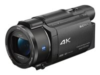 Sony Handycam FDR-AX53 Camcorder 4K / 30 fps 16.6 Mpix 20x optical zoom Carl Zeiss