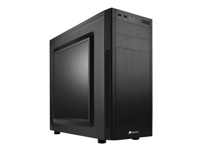 CORSAIR Carbide Series 100R Miditower ATX Ingen strømforsyning Sort