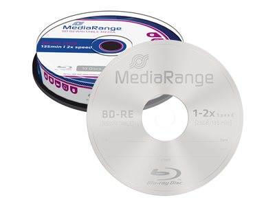 - BD-RE x 10 - 25 GB - Speichermedium