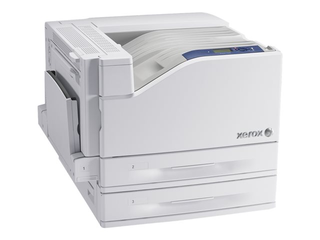 Xerox Phaser 7500DT - Printer - color - Duplex - LED - A3/Ledger - 1200 x 1200 dpi - up to 35 ppm (mono) / up to 35 ppm (color) - capacity: 1100 sheets - USB 2.0, Gigabit LAN