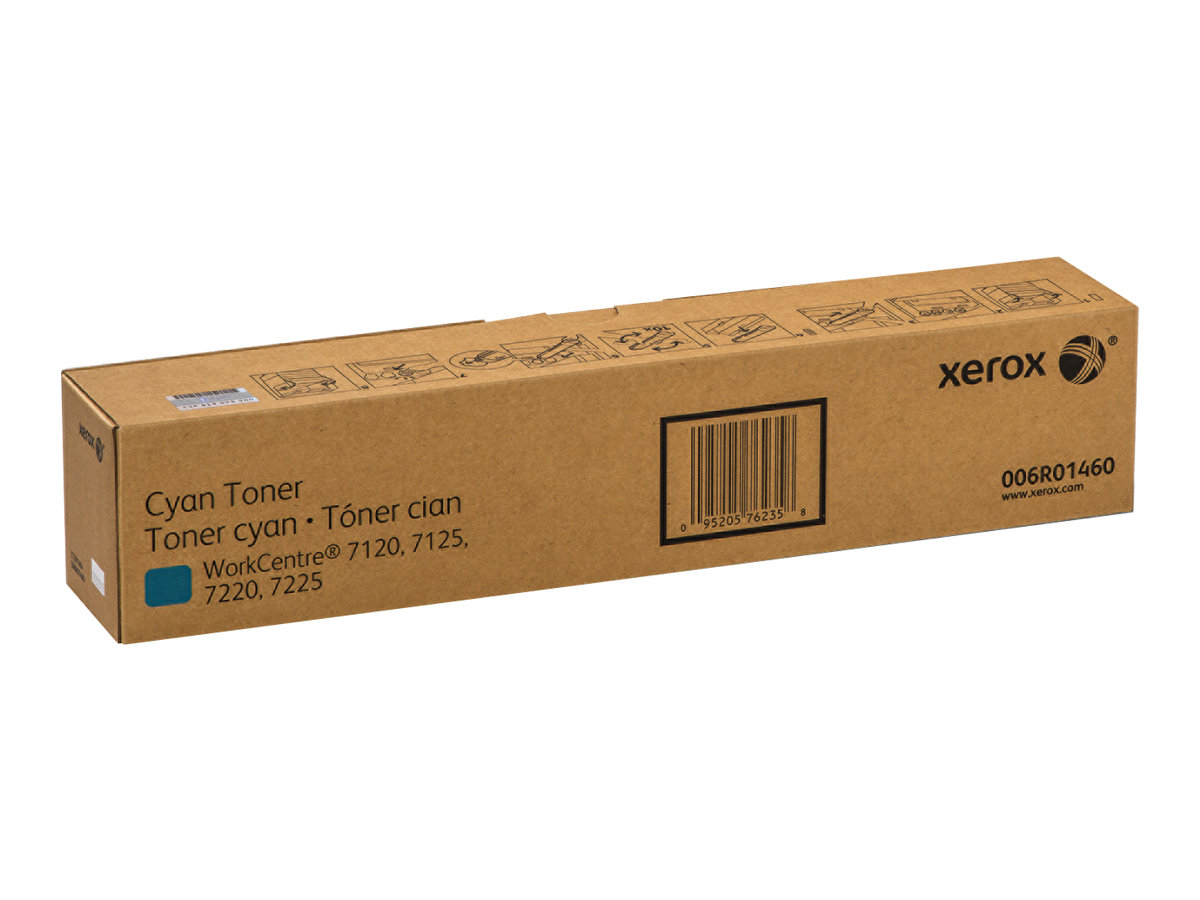Xerox WorkCentre 7220i/7225i - cyan - original - toner cartridge