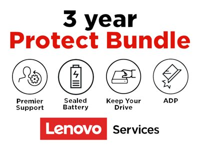 Lenovo On-Site + ADP + KYD + Sealed Battery + Premier Support Extended service agreement