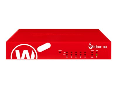 WatchGuard Firebox T40 Security appliance with 3 years Standard Support 5 ports GigE