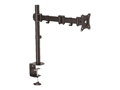 "StarTech.com Desk Mount Monitor Arm for up to 34"" VESA Compatible Displays, Articulating Pole Mount with Single Monitor…"