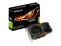 Gigabyte GeForce GTX 1050 Ti G1 Gaming 4G - OC Edition - graphics card