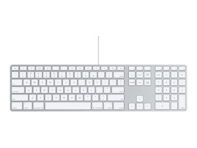 Apple Keyboard with Numeric Keypad - Tastatur - USB - Spanisch - für Mac mini; MacBook; MacBook Pro