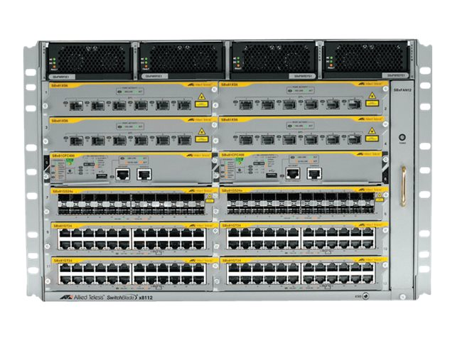 Allied Telesis SwitchBlade AT SBx8112 - Switch - an Rack montierbar
