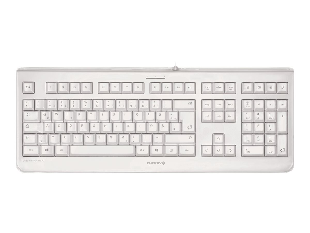 CHERRY TAS KC 1068 IP 68 grau belgisches Layout JK-1068BE-0