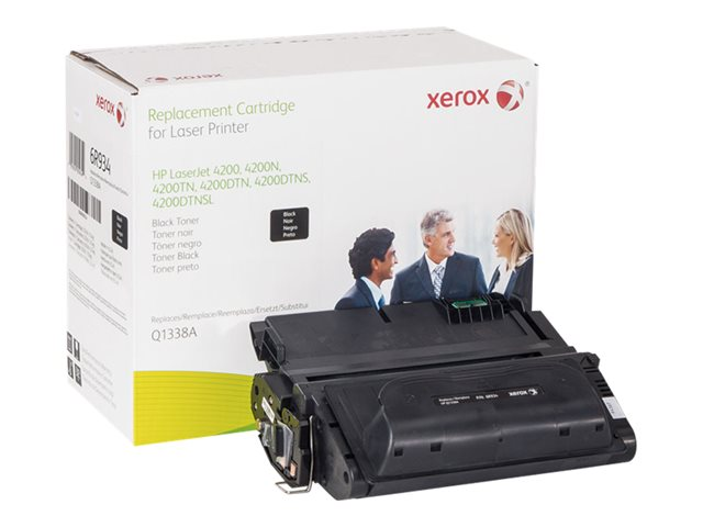 Xerox - Black - toner cartridge (alternative for: HP 38A) - for HP LaserJet 4200, 4200dtn, 4200dtns, 4200dtnsl, 4200L, 4200Ln, 4200Lvn, 4200n, 4200tn