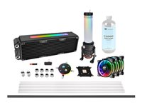 Thermaltake Pacific M360 Plus D5 Hard Tube Water Cooling Kit - Satz für flüssiges Kühlsystem