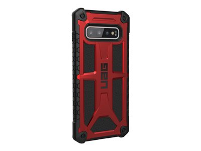 Rugged Case for Samsung Galaxy S10 Plus [6.4-inch screen] - Monarch Crimson