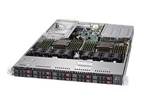 "Supermicro 1U 10x 2.5"" Bays SuperServer 1029U-E1CR25M (Complete System Only)"