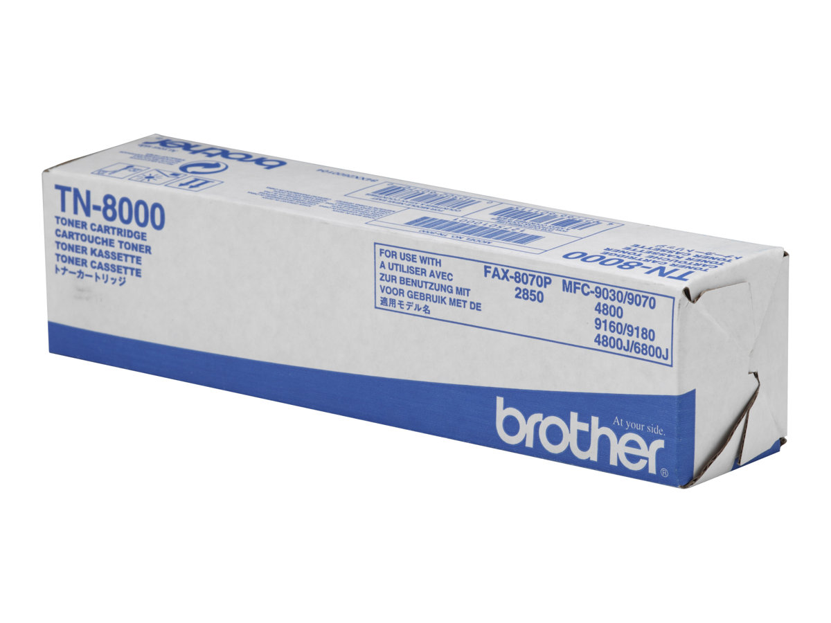 Brother TN8000 - Schwarz - Original - Tonerpatrone - für Brother MFC-4800, MFC-9030, MFC-9070, MFC-9160, MFC-9180; FAX-2850, 8070P