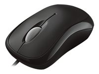 Microsoft Basic Optical Mouse - Ratón - diestro y zurdo