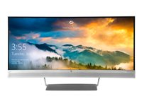 HP EliteDisplay S340C LED monitor curved 34INCH (34INCH viewable) 3440 x 1440 VA 300 cd/m²
