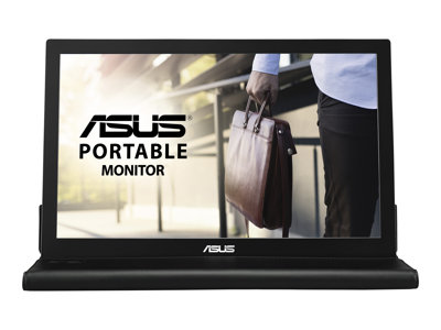ASUS MB168B LED monitor 15.6INCH portable 1366 x 768 TN 200 cd/m² 11 ms USB  image