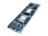 Intel Compute Module HNS2600BPQ24 - Server - blade - 2-way - RAM 0 MB - no HDD - GigE, 10 GigE - monitor: none