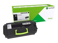 Lexmark 521HE High Yield black original toner cartridge