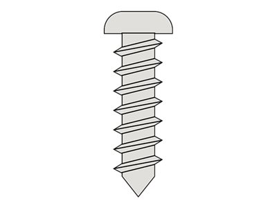RC - Self-tapping Pan Head Screw 3.5X13mm