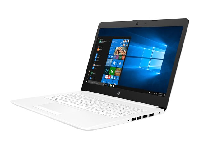 "HP 14-cm0000nf - A9 9425 / 3.1 GHz - Win 10 Familiale 64 bits - 4 Go RAM - 1 To HDD - 14"" IPS 1366 x 768 (HD) - Radeon R5 - Bluetooth - blanc neige, motif maglia - kbd : AZERTY French"