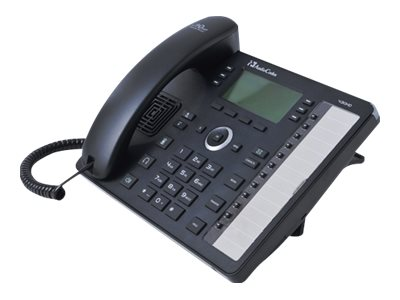 AudioCodes 430HD SIP IP Phone VoIP phone 3-way call capability SIP, SDP 6 lines bla