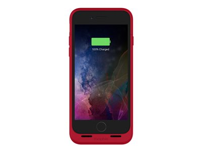 mophie Juice Pack Air External battery pack 2525 mAh red for Apple iPhon