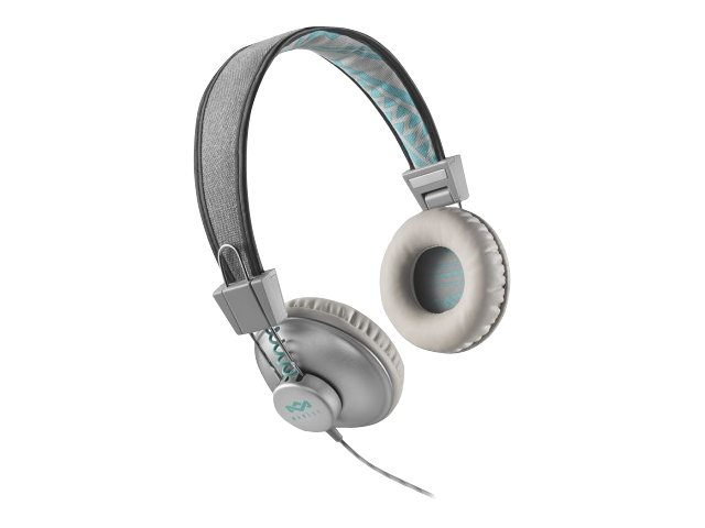 House of Marley Jammin Collection Positive Vibration - Kopfhörer - On-Ear - 3,5 mm Stecker - Mist
