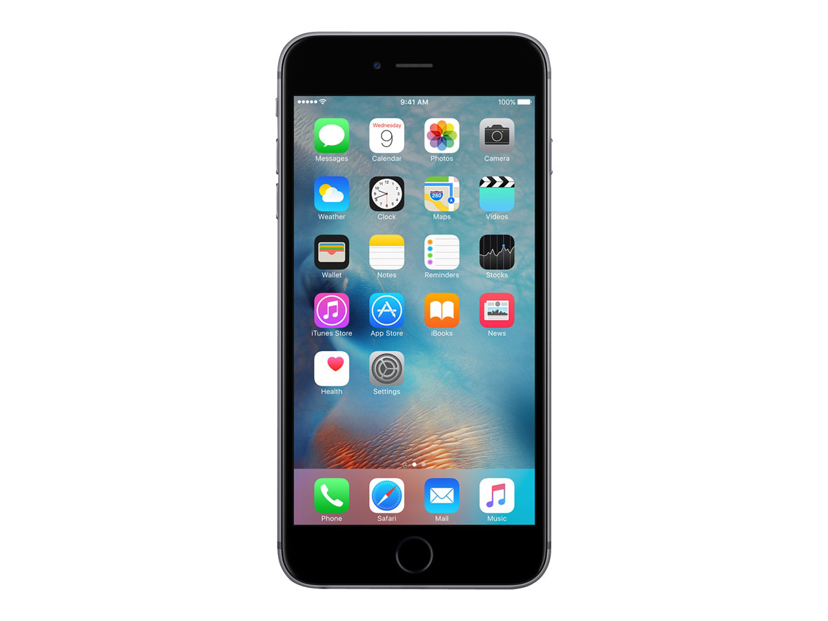 Apple Iphone 6s Smartphone Reconditionne 4g 64 Go Gris Sideral