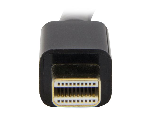 StarTech.com Mini DisplayPort to HDMI converter cable - 3 ft (1m) - mDP to HDMI adapter with built-in cable - (M / M) Ultra HD 4K (MDP2HDMM1MB)