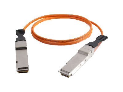 C2G 40G InfiniBand Active Optical Cable - InfiniBand cable - 1 m - orange